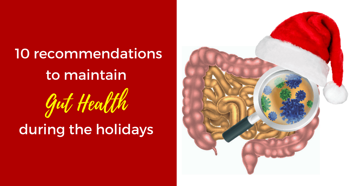 holidays gut health